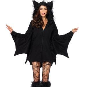 Spirit Halloween Bat costume. Fleece. Large